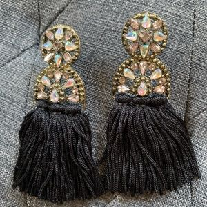NWOT Baublebar Pisa Tassel Earrings